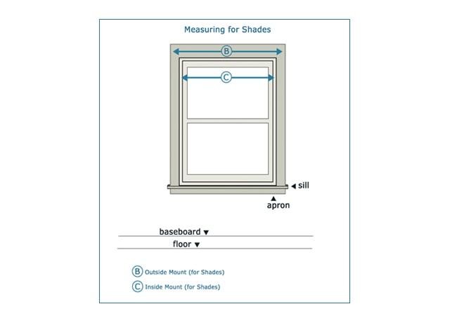 Cách đo chiều rộng rèm cửa cuốn