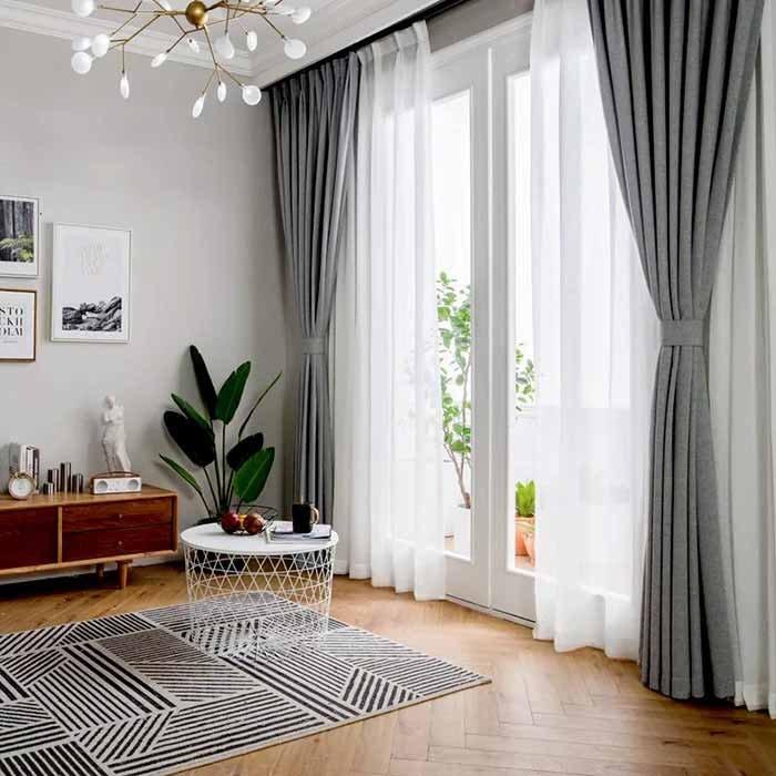 Hình ảnh minh họa: Rèm phòng khách lung linh và sang trọng