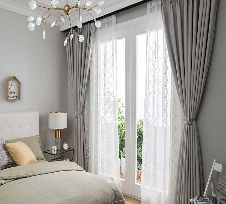 Các mẫu rèm phòng ngủ đẹp hot năm 2019