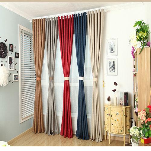 Rèm vải tại rèm cửa Thành Đô