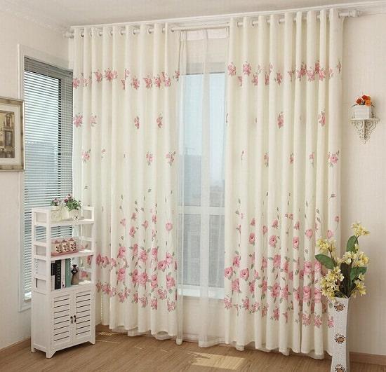 chọn họa tiết cho rèm phòng ngủ
