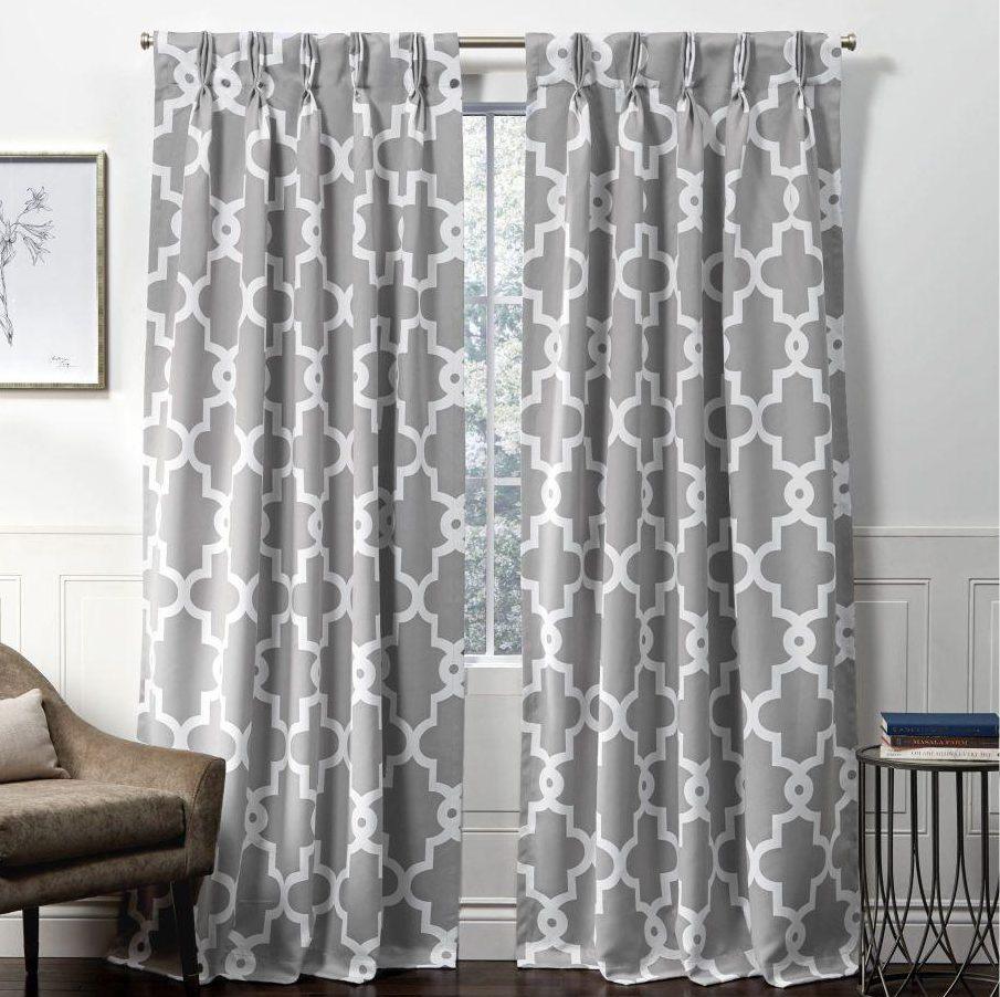 mẫu rèm vải phòng khách 2