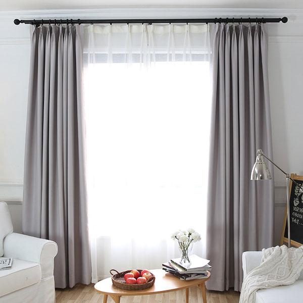 mẫu rèm vải phòng khách