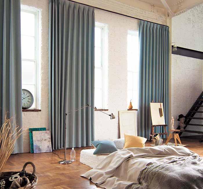 rèm vải dánh cho phòng ngủ